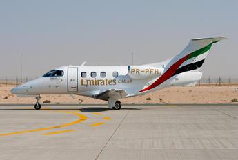 PR-PFH - Emirates Airlines Embraer EMB-500 Phenom 100