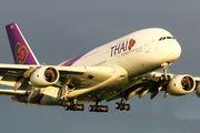 HS-TUC - Thai Airways Airbus A380 aircraft