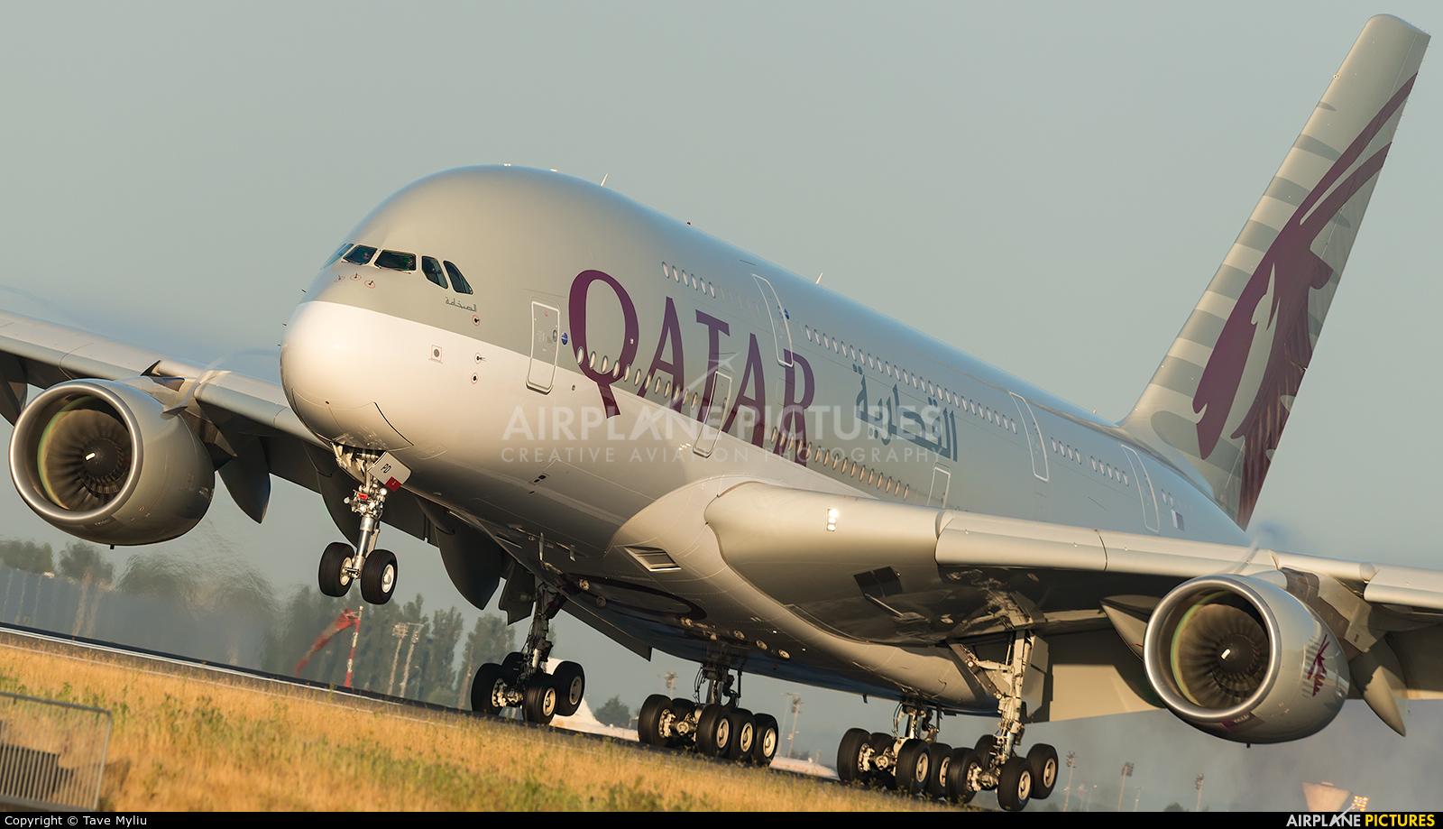 Qatar Airways A7-APD aircraft at Paris - Charles de Gaulle