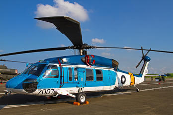 7007 - Taiwan - Air Force Sikorsky S-70C-1A Bluehawk