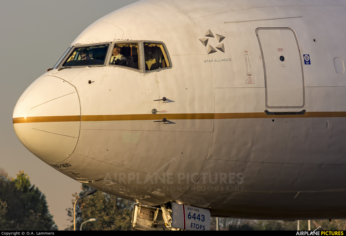 United Airlines N643UA aircraft at Amsterdam - Schiphol
