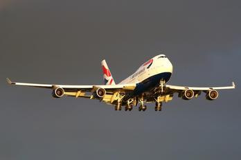 G-BNLK - British Airways Boeing 747-400