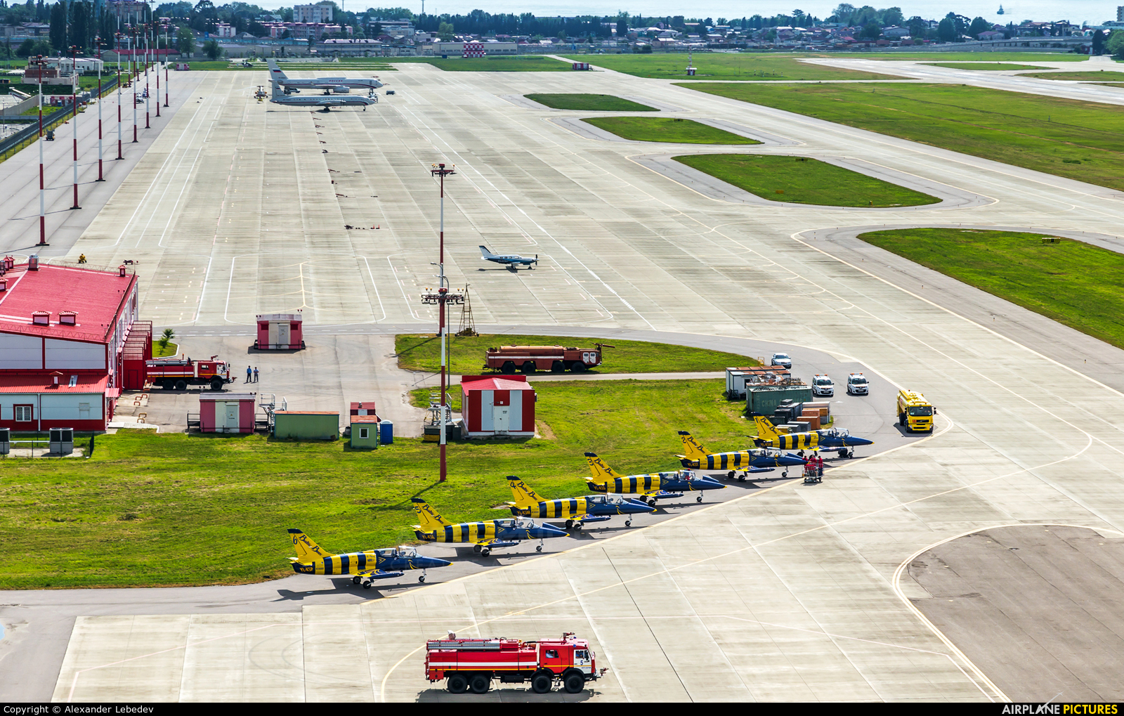 - Airport Overview - aircraft at Sochi Intl