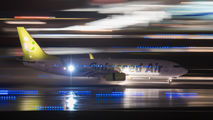 JA805X - Solaseed Air - Skynet Asia Airways Boeing 737-800 aircraft