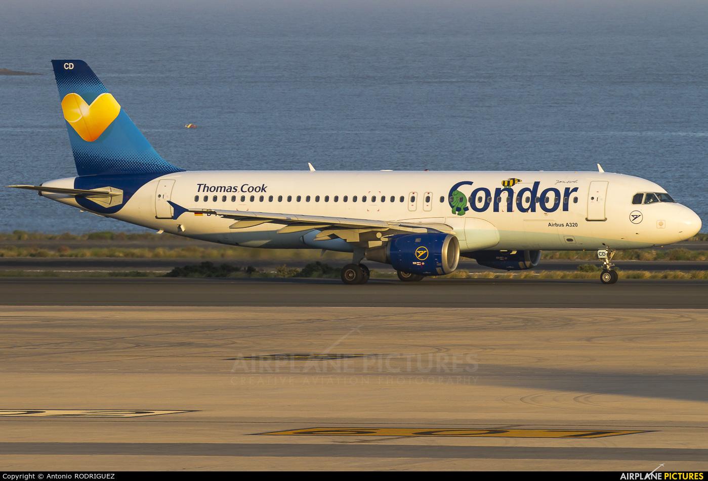 Condor D-AICD aircraft at Las Palmas de Gran Canaria