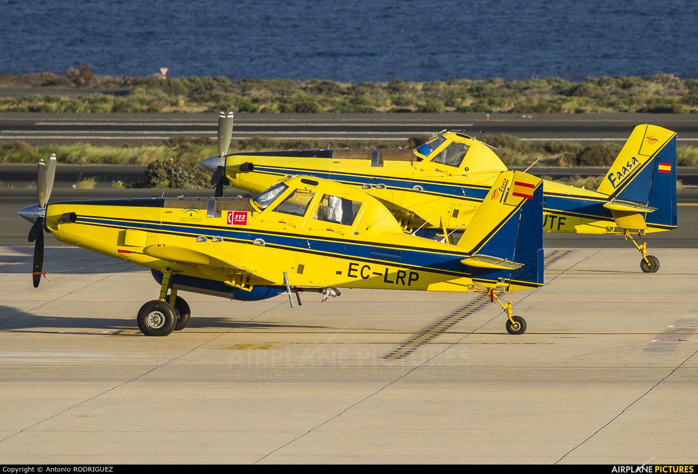 FAASA Aviación EC-LRP aircraft at Las Palmas de Gran Canaria