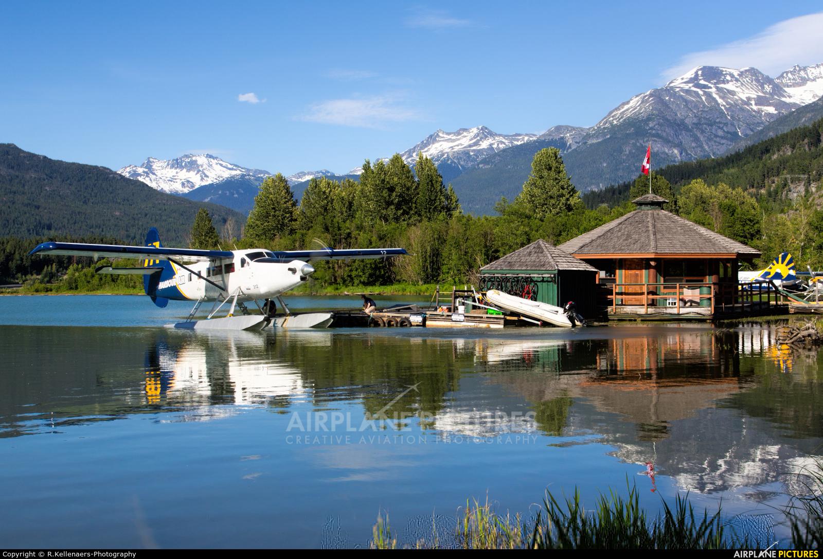 Harbour Air C-FHAS aircraft at Whistler - Green Lake Water, BC