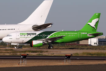 N612MX - First Nation Airways Airbus A319