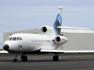 M-VGAL - Virgin Galactic Dassault Falcon 900 series