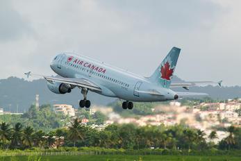 C-FYKC - Air Canada Airbus A319