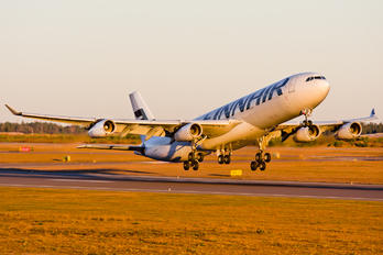 OH-LQC - Finnair Airbus A340-300