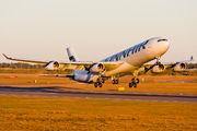 OH-LQC - Finnair Airbus A340-300 aircraft