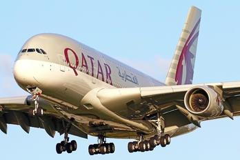 A7-APC - Qatar Airways Airbus A380