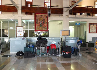 HALL - - Airport Overview - Airport Overview - Terminal Building