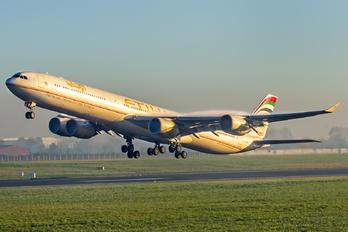 A6-EHF - Etihad Airways Airbus A340-600