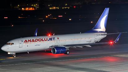 TC-SCE - AnadoluJet Boeing 737-800