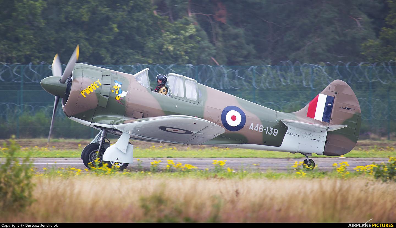 Private NX32CS aircraft at Kleine Brogel