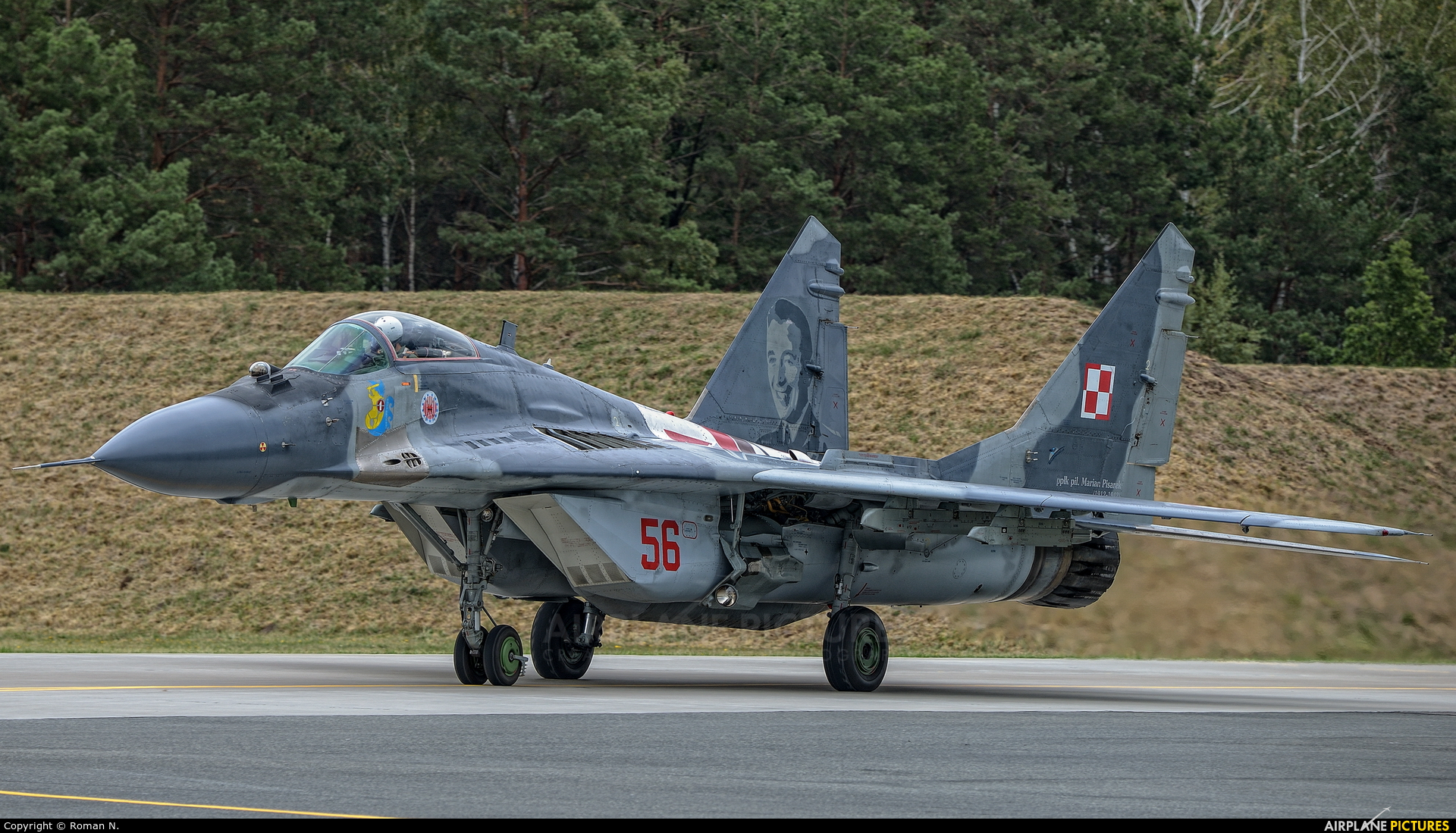 Poland - Air Force 56 aircraft at Łask AB