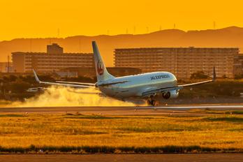 JA344J - JAL - Express Boeing 737-800