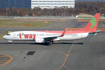 HL8237 - T'Way Air Boeing 737-800