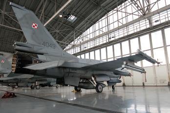 4049 - Poland - Air Force Lockheed Martin F-16C Jastrząb