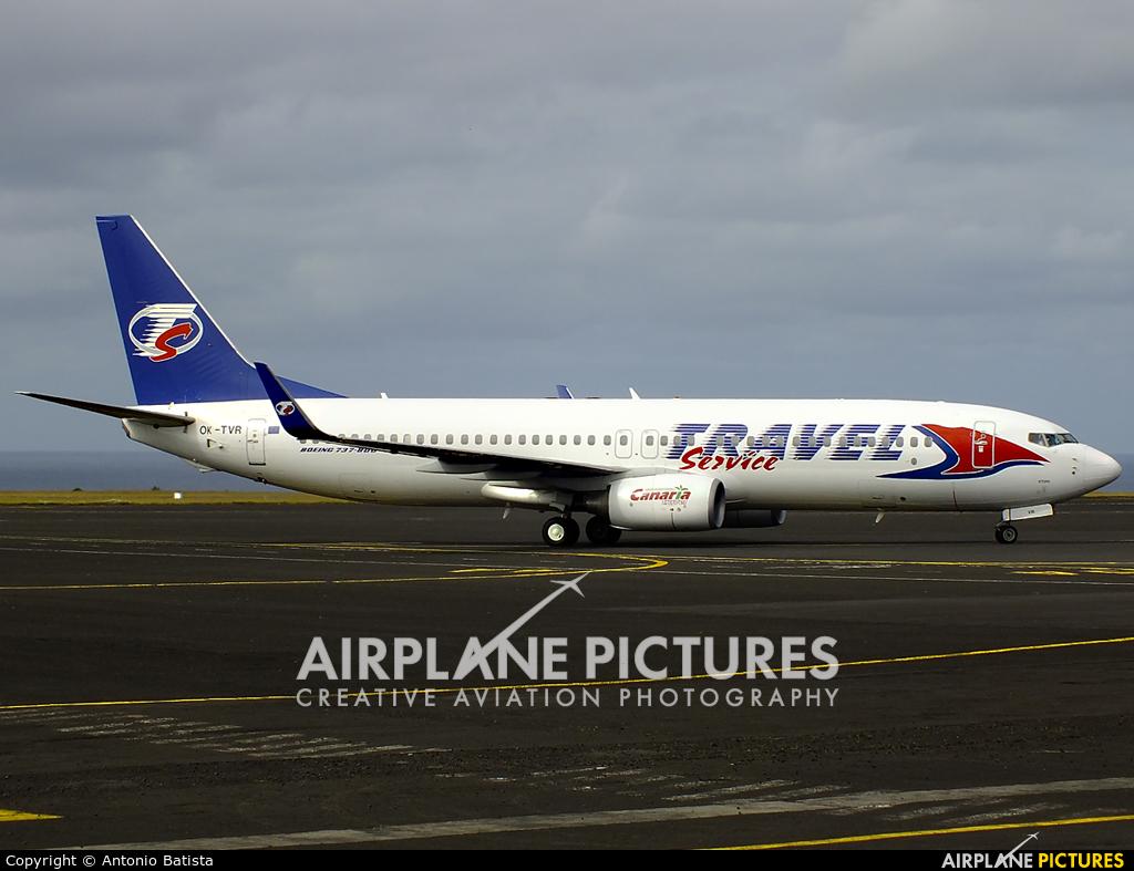 Travel Service OK-TVR aircraft at Azores - Santa Maria