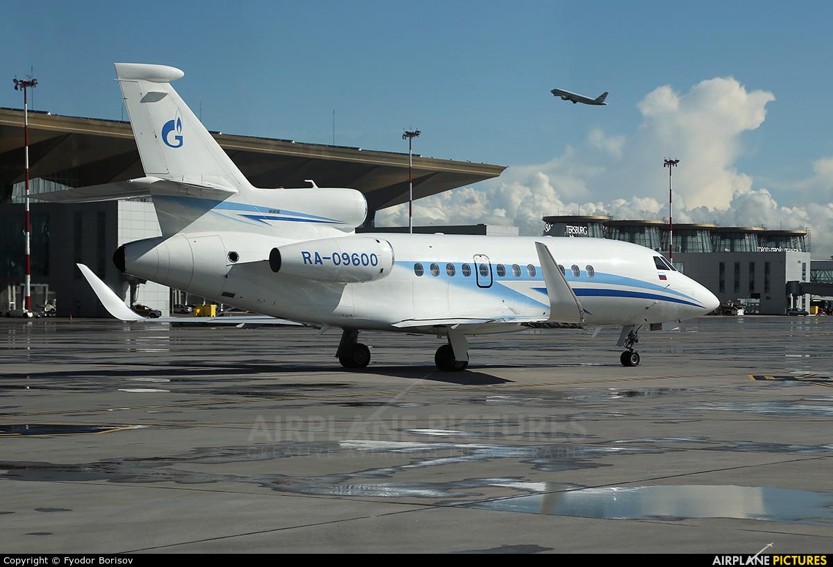 Gazpromavia RA-09600 aircraft at St. Petersburg - Pulkovo