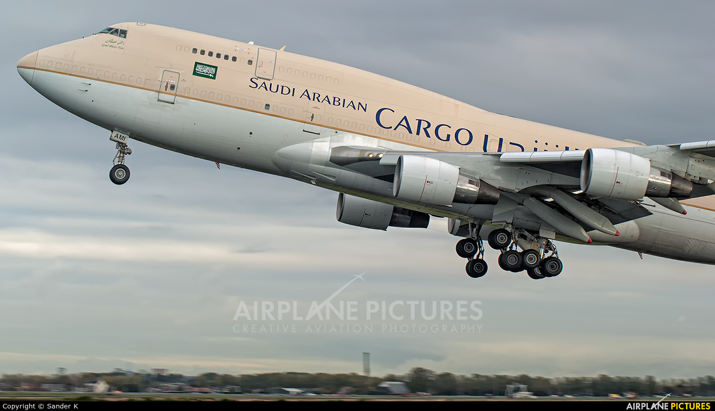 Saudi Arabian Cargo TF-AMI aircraft at Amsterdam - Schiphol