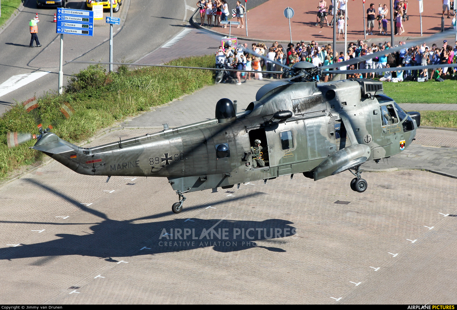 Germany - Navy 86+60 aircraft at Off Airport - Netherlands