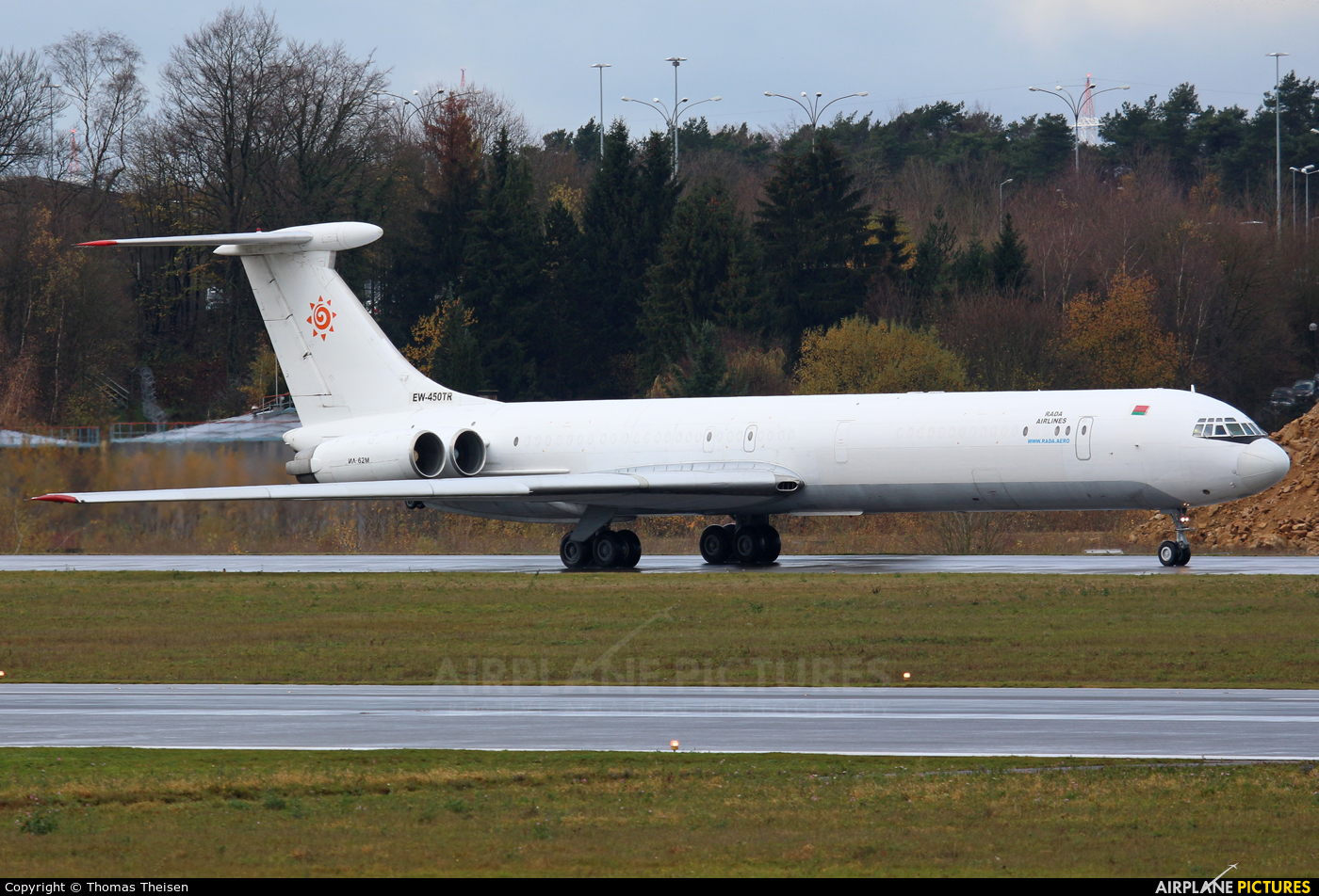 Rada Airlines EW-450TR aircraft at Luxembourg - Findel