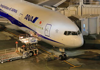 JA705A - ANA - All Nippon Airways Boeing 777-200