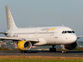 Vueling Airlines Airbus A320 EC-LAB at La Coruña airport