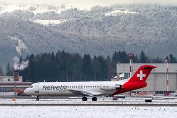 HB-JVG - Helvetic Airways Fokker 100