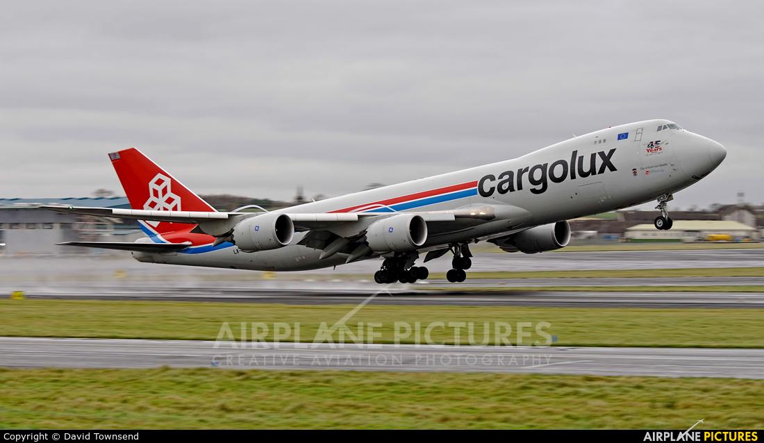 Cargolux LX-VCB aircraft at Prestwick