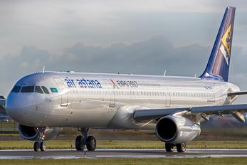 P4-KDB - Air Astana Airbus A321