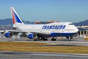 EI-XLD - Transaero Airlines Boeing 747-400 aircraft