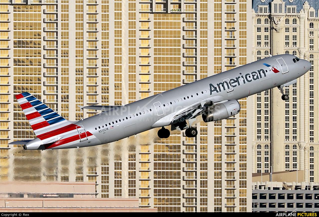 American Airlines N510UW aircraft at Las Vegas - McCarran Intl