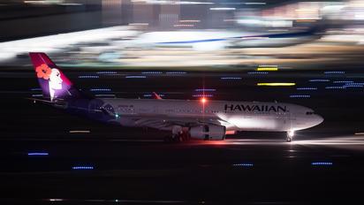 N392HA - Hawaiian Airlines Airbus A330-200