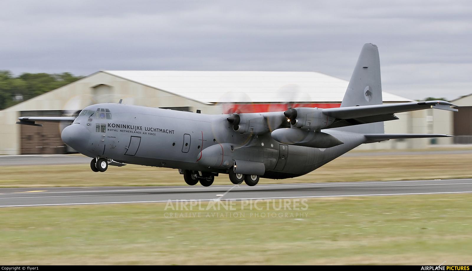 Netherlands - Air Force G-275 aircraft at Fairford