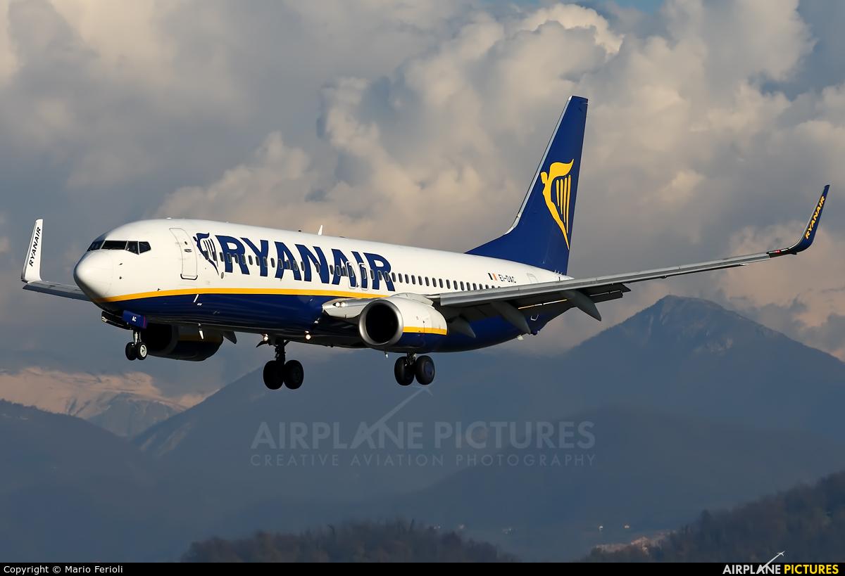 Ryanair EI-DAC aircraft at Bergamo - Orio al Serio