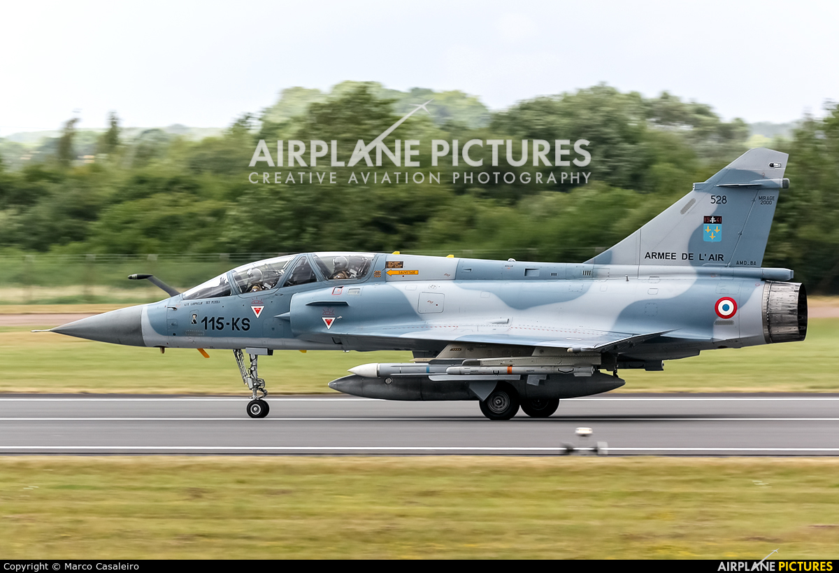 France - Air Force 528 / 115-KS aircraft at Fairford
