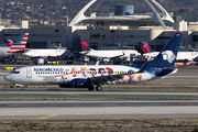 New Snoopy schmee on Aeromexico 737-800 title=