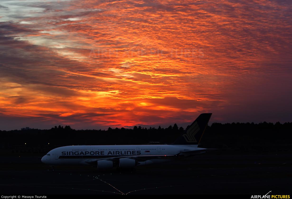 Singapore Airlines 9V-SKR aircraft at Tokyo - Narita Intl