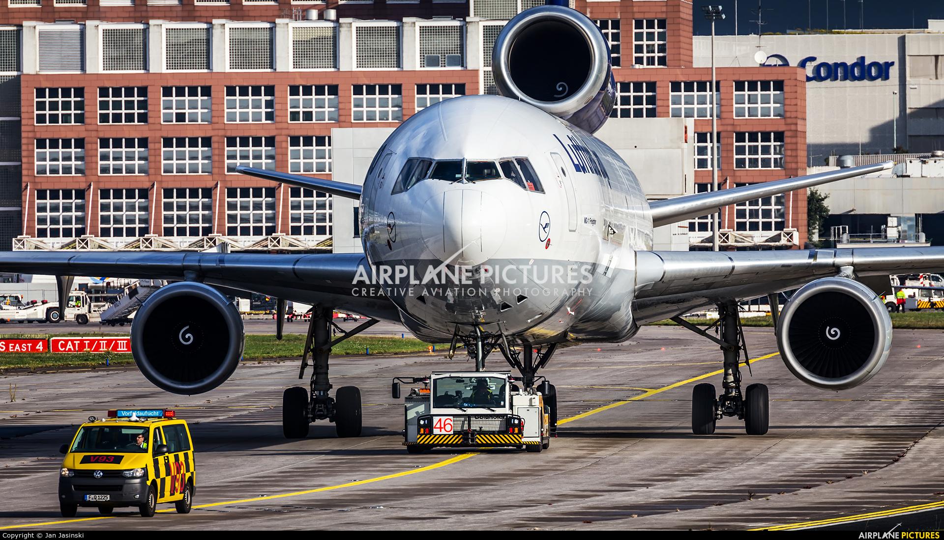 Lufthansa Cargo D-ALCB aircraft at Frankfurt