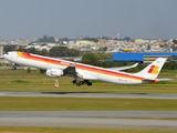 EC-JPU - Iberia Airbus A340-600 aircraft