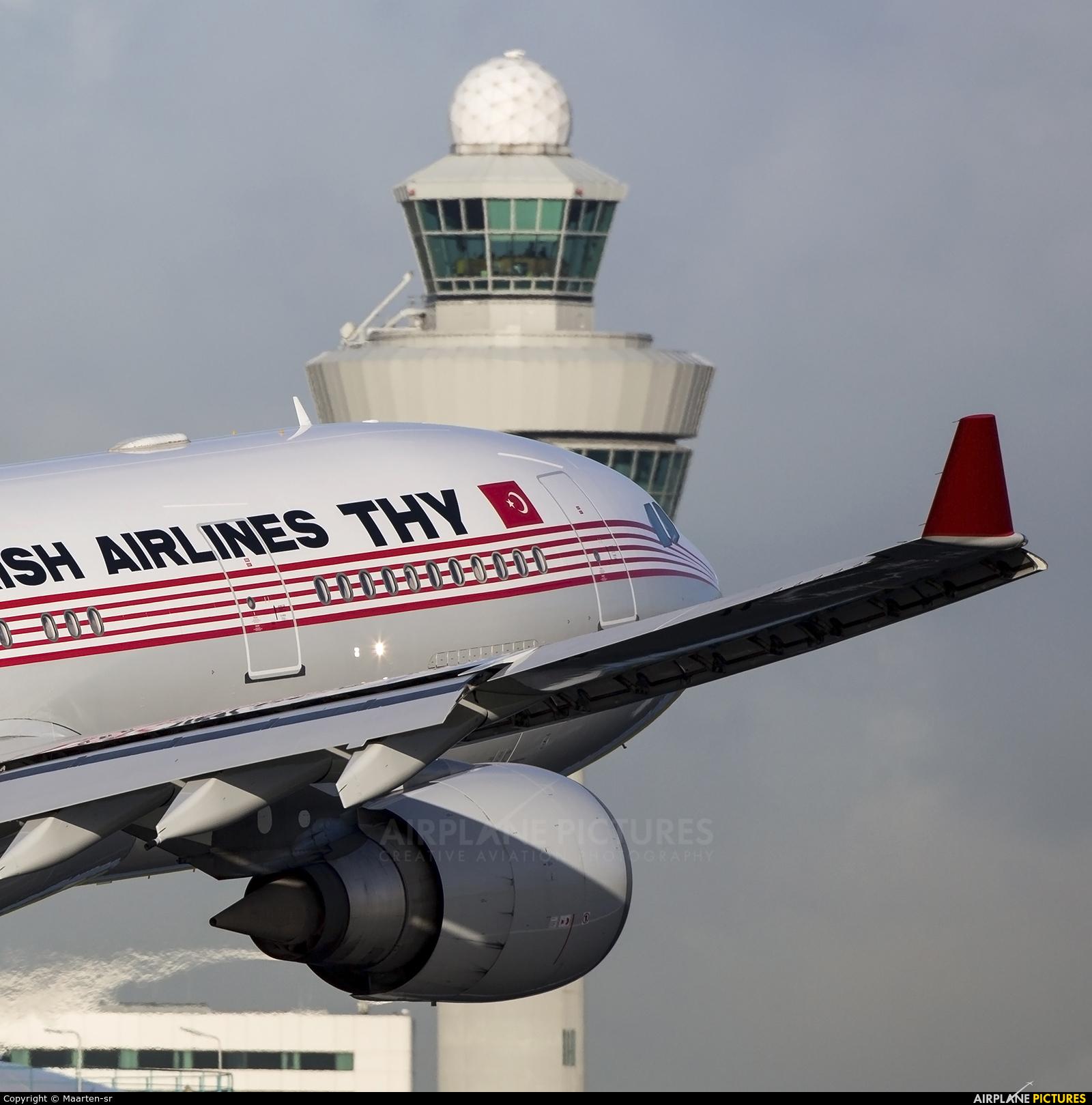 Turkish Airlines TC-JNC aircraft at Amsterdam - Schiphol