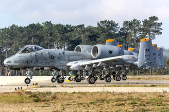 81-0981 - USA - Air Force Fairchild A-10 Thunderbolt II (all models)