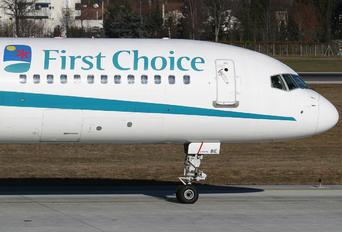 G-OOBE - First Choice Airways Boeing 757-200