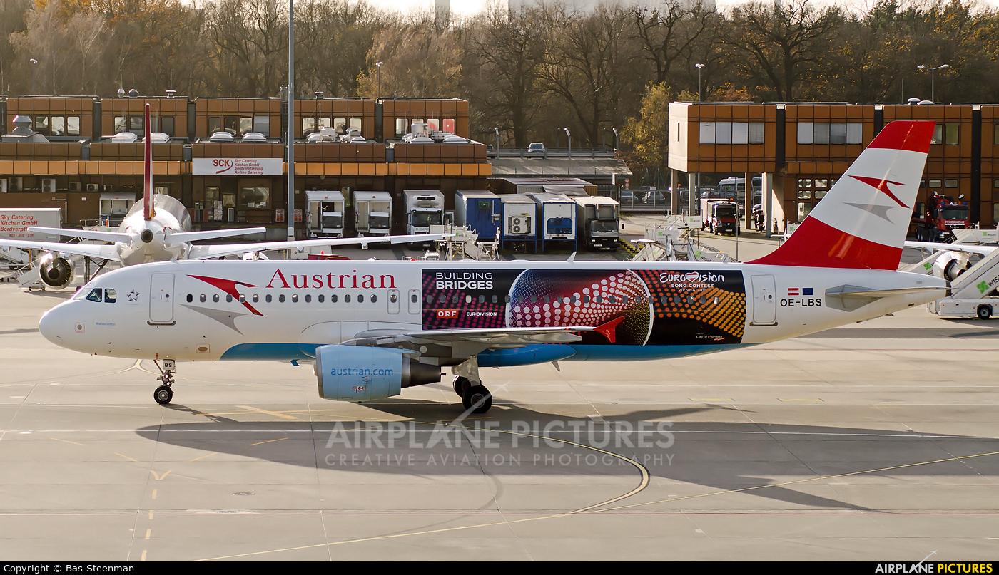 Austrian Airlines/Arrows/Tyrolean OE-LBS aircraft at Berlin - Tegel