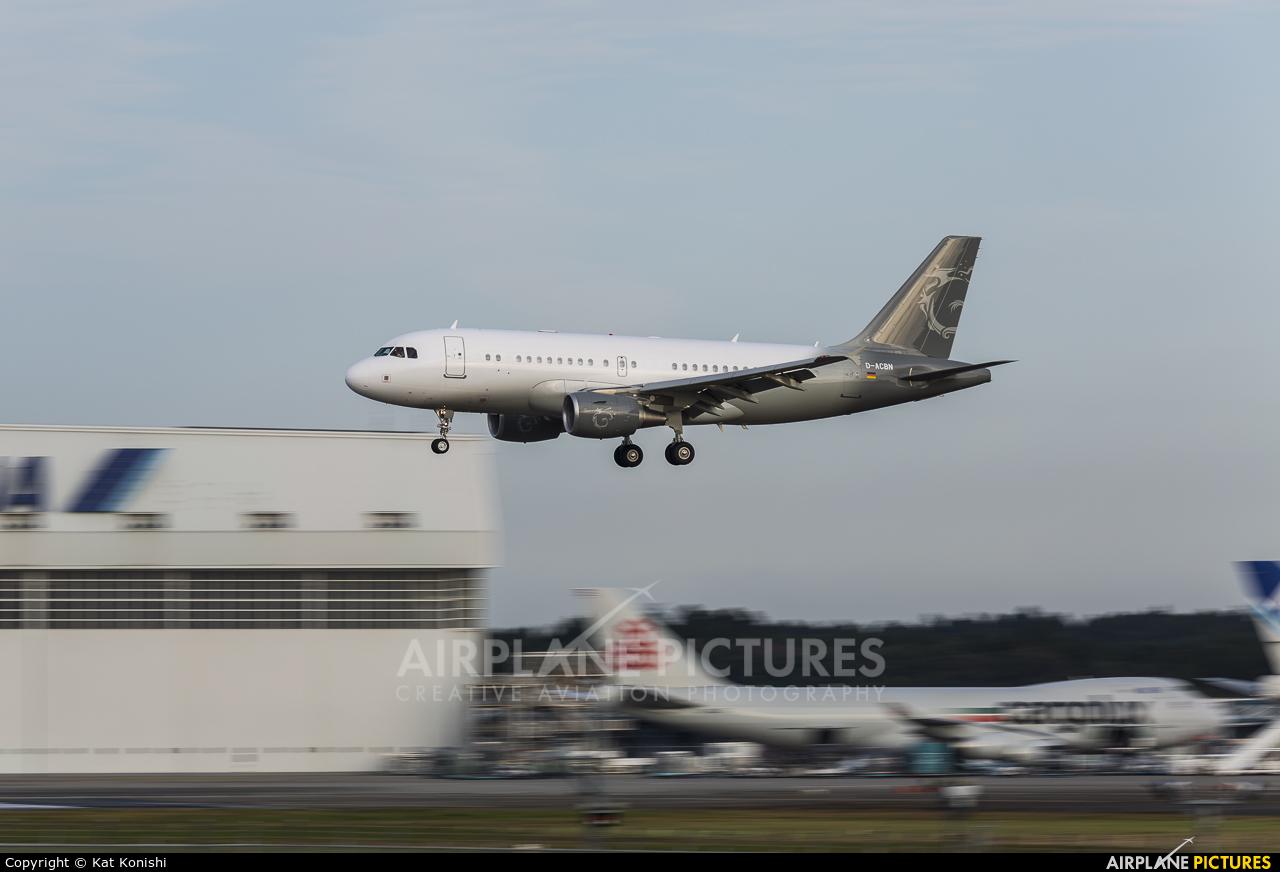 DC Aviation D-ACBN aircraft at Tokyo - Narita Intl
